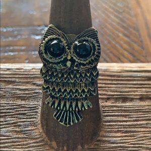 3/$10 ring owl metal